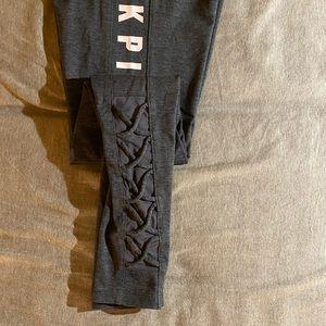 Full length PINK cozy legging